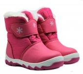 Pinokyo 9112 Kız Çocuk Kar Botu İçi Yünlü Kar Çizmesi