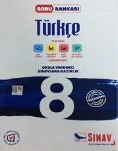 Sınav Yayınları 8. Sınıf Türkçe Soru Bankası