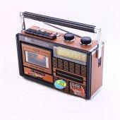 4 Band Radyo Kaset Usb Sd Mp3 Wma Player Am Fm Sw1 Sw2 Fp 319u