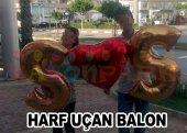 Kalp Balon Ucuz, Folyo 75cm + I Love You + Sevgili Kalpli Uçan