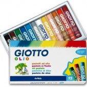 Giotto Olio Yağlı Pastel Boya Silindir 12li Paket