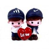 Love Temalı Sevgililer Biblo