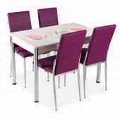 Masa Sandalye Takımı Yemek Masaları 4 Sandalye + Masa