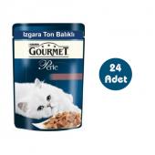 Gourmet Perle Izgara Ton Balıklı Kedi Konservesi 85gx24 Adet