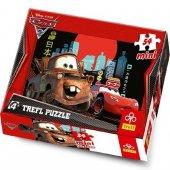 54 Parça Mini Puzzle Cars 2 Puzzle 54097