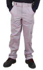 Iş Pantolonu Reflektörsüz Gri 16 12