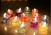Jel Mum Mini Shot İçinde 8 Adet Dekoratif Renkrenk Hediyelik