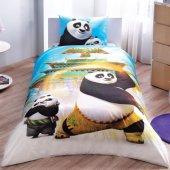 Taç Kun Fu Panda Movie Lisanslı Tek Kişilik Nevresim Takımı