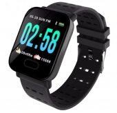 Olix A6 Sport Smart Watch Akıllı Saat Su Geçirmez, Tansiyon Ve Nabız Ölçer, Uyku Takip