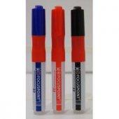 Focuspoint Tahta Kalemi Kartuşlu Mavi 12 Adet