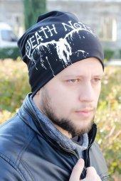 Death Note Yazılı Siyah Renk Erkek Bere