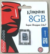 Kıngston 8gb Micro Sd Class 4 Hafıza Kartı Sdc4 8g...
