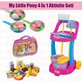 My Little Pony Temizlik Seti Fileli Meyve Ve Sebzeler Seti My Little Pony Doktor Çantası Evcilik Set