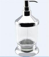 Dibanyo Versay Set Üstü Sıvı Sabunluk Krom