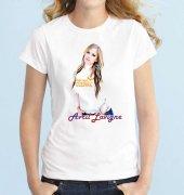 Tshirthane Avril Lavigne Kısakollu Erkek Tişört