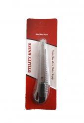 Dar Metal Maket Bıçağı Ofis Tipi 9mm 24 Adet