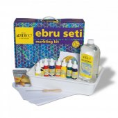 Artdeco Ebru Başlangıç Seti 5 Renk Çantalı