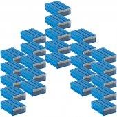 Sembol 102 Plastik Çekmeceli Kutu (25&#039 Li Paket) 85x122x41 Mm