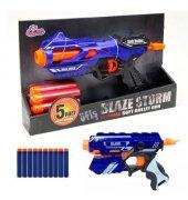 Blaze Storm Nerf Guns Yumuşak Mermili Tabanca 5 Parça