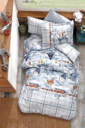 Soley Camouflage Mavi Genç Uyku Seti