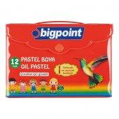 Bigpoint Pastel Boya 12 Renk Çantalı
