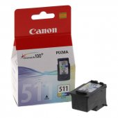 Canon Cl 511 Orjinal Renkli Kartuş