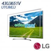 Lg 43uj651v Tv Ekran Koruyucu Ekran Koruma Camı Etiasglass