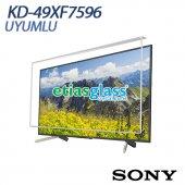 Sony Kd 49xf7596 Tv Ekran Koruyucu Ekran Koruma Camı Etiasglass