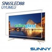 Sunny Sn65led88 Tv Ekran Koruyucu Ekran Koruma Camı Etiasglass