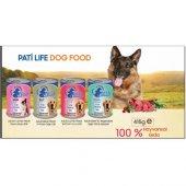 Pati Life Konserve Köpek Maması 415 Gr 24 Lü Koli Sıgır Etli
