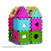 Lp 5010 King Kids Eğitici Küçük Puzzle 24 Parça...