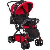 Baby Keeper Çift Yönlü Bebek Arabası Kırmızı