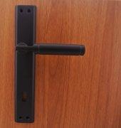 Ibiza Mat Siyah Aynalı Kapı Kolu