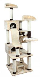 Trixie Kedi Tırmalama Ve Oyun Evi 209cm Bej Kahve