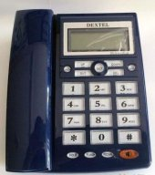 Dextel Dex 012cıd Kablolu Masa Telefonu Mavi