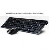 A4 Tech 9500f Q Kablosuz Mm Vtrack Mouse Set Siyah...
