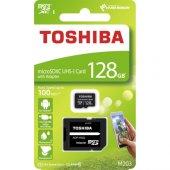 Toshiba 128gb Micro Sdhc Uhs 1 C10 Thn M203k1280ea...
