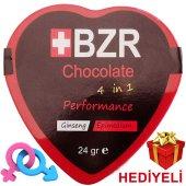 +bzr Chocolate 4 İn 1 Erkek Ve Kadınlara Özel (Jel Hediyeli)