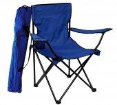 Granit Çantalı Katlanır Kamp Sandalyesi Katlanabilir Koltuk Lacivert Kl1