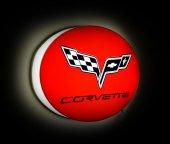 Corvette Işıklı Duvar Panosu