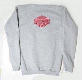 Harley Davidson Logolu Gri Xxl Sweatshirt