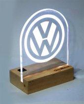 Volkswagen Logolu Masaüstü Led Aydınlatma