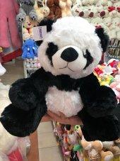 40cm 1. Sınıf Sevimli Panda Peluş Ayı Kaliteli Sağlıklı Peluşcu