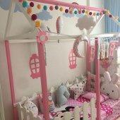 Montessori Işıklı Toplar Led El Yapımı Top Dekoratif Aydınlatma