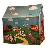 Yabidur Oyuncak Çocuk Oyun Çadırı Ev Çiftlik Seti