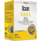 Orzax Ocean Vitamin D3 600 Iu Sprey 20ml