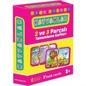 Diy Toy Flash Card Hayvanlar