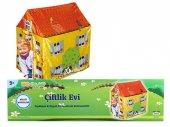 çocuk Oyun Çadırı Çiftlik Evi Modeli Erkek Oyun Çadırı Oyun Evi