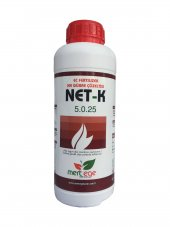 Net K %5 Azot %25 Potasyum Yaprak Ve Damlama Sıvı Gübre 1 Lt