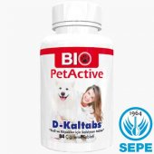 D Kaltabs 84 Tablet Kedi Köpek Taşıyıcı Dikalsiyum Fosfat Vit.d3